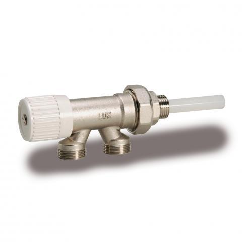 """Radijatorski jednocijevni ventil Luxor 1/2"""" Cu M 88-0"""