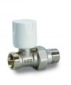 """Radijatorski ventil Luxor 1/2"""" Cu ravni RD 111-0"""