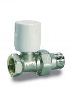 """Radijatorski ventil Luxor 1/2"""" Fe ravni RD 101-0"""