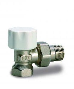"""Radijatorski termostatski ventil Luxor 1/2"""" Fe ravni RD 201-0"""